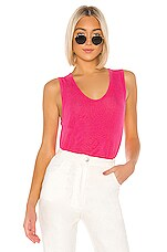 Free People Take The Plunge Tank in Pink