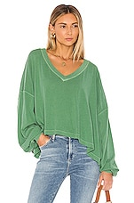 Free People Buffy Tee in Green