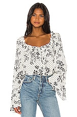 Free People One On One Date Bodysuit in Ivory