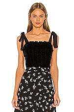 Free People Trapped In Your Love Tank in Black