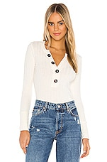Free People Oliver Henley in Ivory