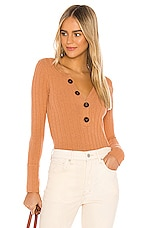 Free People Oliver Henley in Terracotta