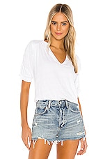 Free People Fever Dream Tee in White