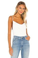 Free People Disco Days Solid Cami in Ivory