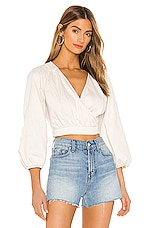 Free People Sophie Solid Top in White