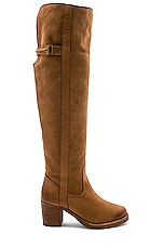 Free People Adirondack Tall Boot in Taupe