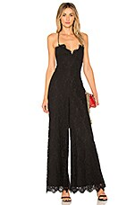 FAME AND PARTNERS The Jade Jumpsuit in Black