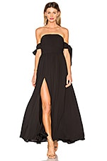 FAME AND PARTNERS X REVOLVE Sandra Maxi Dress in Black