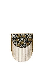 From St Xavier Sapphire Bag in Black & Gold