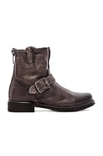 Vicky Artisan Back Zip Boot in Charcoal