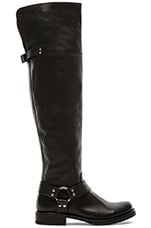 Veronica Harness OTK Boot in Black