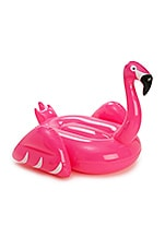 Inflatable Flamingo Pool Float en Rose