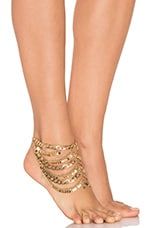 Tynuska Anklet in Gold