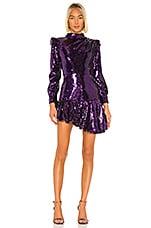 GIUSEPPE DI MORABITO Metallic Dress in Purple