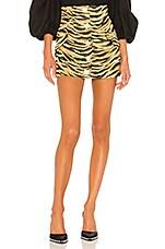 GIUSEPPE DI MORABITO Mini Skirt in Tiger