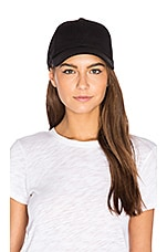 Luxe Cashmere Blend Cap in Black