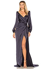 Gemeli Power Whisky Jay Gown in Navy