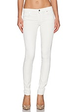 Stem Mid Rise Skinny in Winter White