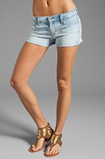 Ivy Denim Short in Mist