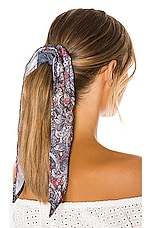 Genie by Eugenia Kim X REVOLVE Tai Scrunchie in Blue Multi