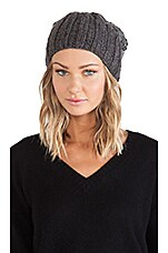 Brady Beanie in Gray & Charcoal