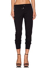 Skinny Sweatpant in Black