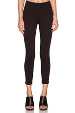 Crop Legging in Black