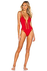 GIGI C Alexandra One Piece in Red