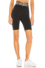 GIGI C sport Erin Belted Short in Black