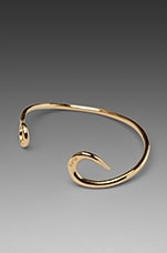 Hook Cuff in Gold