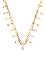 EIGHT by GJENMI JEWELRY Single Strand Necklace in Gold