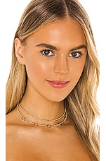 EIGHT by GJENMI JEWELRY Party Choker in Gold