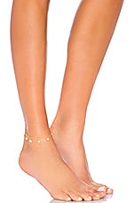 EIGHT by GJENMI JEWELRY x REVOLVE Star Anklet in Gold