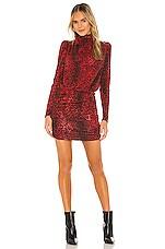 Generation Love Lolita Dress in Red Leopard
