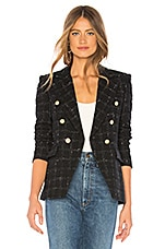 Generation Love Alexa Blazer in Black & White