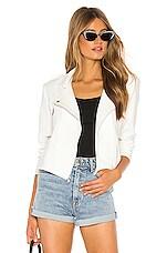 Generation Love Tobias Moto Jacket in White