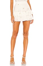 Generation Love Audrina Star Skirt in White