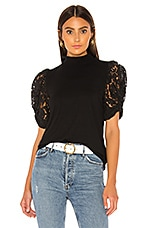 Generation Love Alanna Lace Top in Black