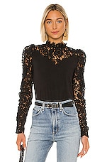 Generation Love Tamra Lace Blouse in Black