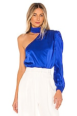 Generation Love Rosario Blouse in Electric Blue