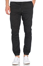 Select Denim Joggers en Black Spray