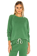 The Great The College Sweatshirt in Bottle Green
