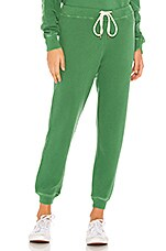 The Great The Cropped Sweatpant in Bottle Green