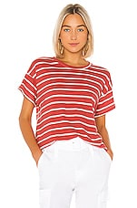 The Great The Boxy Crew in Cardinal Stripe