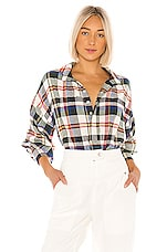 The Great The Painters Smock Top in School House Plaid