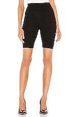 GRLFRND Lady Cinched Biker Shorts in Black