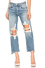 GRLFRND Helena High-Rise Straight Jean in It's Cold Out