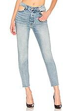 GRLFRND Karolina High-Rise Skinny Jean in Zoned Out