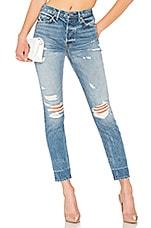 GRLFRND Karolina High-Rise Skinny Jean With Butt Slit in Nothing Else Matters