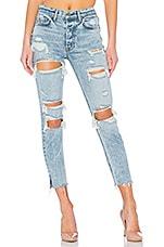 GRLFRND Karolina High-Rise Skinny Jean in Rumi